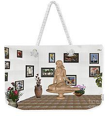 digital exhibition _ Sculpture 10 of girl  Weekender Tote Bag
