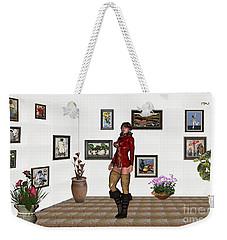 digital exhibition 32  posing  Girl 31  Weekender Tote Bag