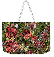 Digital Garden V Weekender Tote Bag by Leo Symon