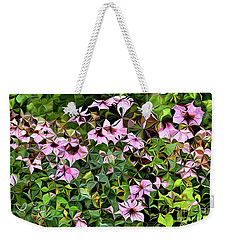 Digital Garden Vii Weekender Tote Bag by Leo Symon