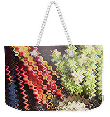 Weekender Tote Bag featuring the painting Digital Graphic Art Based On Veggie Salad Photography Christmas Holidays Festivals Birthday Mom Dad  by Navin Joshi
