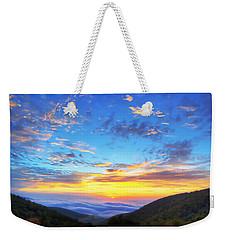 Digital Liquid - Good Morning Virginia Weekender Tote Bag