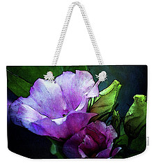 Digital Watercolor Elegance 3700 W_2 Weekender Tote Bag