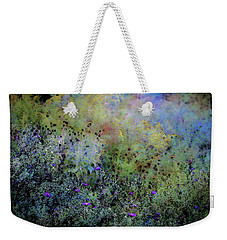 Digital Watercolor Field Of Wildflowers 4064 W_2 Weekender Tote Bag
