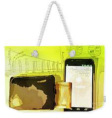 Digitalization Weekender Tote Bag