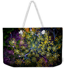 Dill Going To Seed Weekender Tote Bag