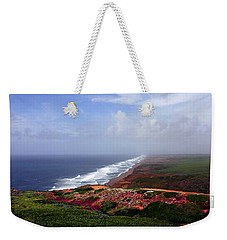 Flowering Beach Point Reyes Lighthouse Bodega Bay Weekender Tote Bag