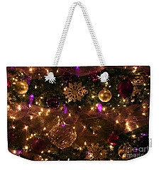Dim The Lights Weekender Tote Bag by Marie Neder