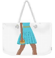 Weekender Tote Bag featuring the digital art Dima by Nancy Levan