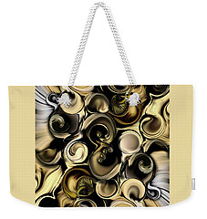 Dimension Vs Shape Weekender Tote Bag