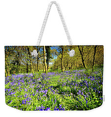 Dinefwr Bluebell Walk Weekender Tote Bag