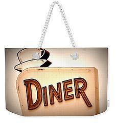 Diner Weekender Tote Bag