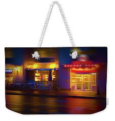 Diner At Night Weekender Tote Bag by Glenn Gemmell