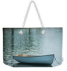 Weekender Tote Bag featuring the photograph Dinghy by Guy Whiteley