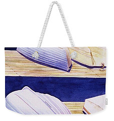Dinghy Lines Weekender Tote Bag