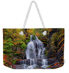 Dingmans Falls In Autumn 2 Weekender Tote Bag by Raymond Salani III