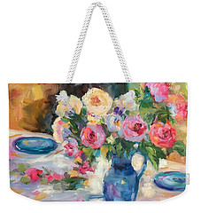 Dining Alfresco Weekender Tote Bag