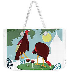 Dining En Plein Air Weekender Tote Bag