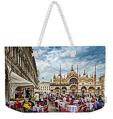 Dining On St. Mark's Square Weekender Tote Bag
