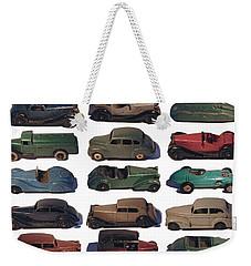 Dinky Car Park Weekender Tote Bag
