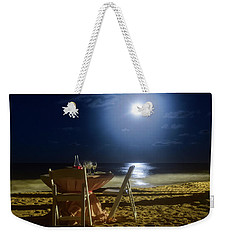 Dinner For Two In The Moonlight Weekender Tote Bag