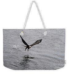 Dinner? Prince Rupert Eagle  Weekender Tote Bag