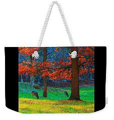 Dinner Under The Trees Weekender Tote Bag
