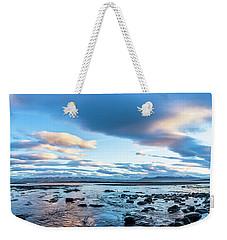 Dinosaur Rock Beach In Iceland Weekender Tote Bag