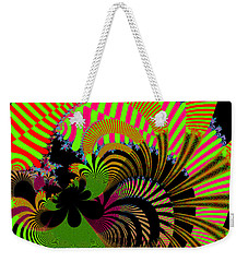 Weekender Tote Bag featuring the digital art Dintroutio by Andrew Kotlinski