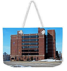 Weekender Tote Bag featuring the photograph Diocese Of Toledo In Winter by Michiale Schneider