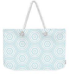 Dip In The Pool -  Pattern Art By Linda Woods Weekender Tote Bag by Linda Woods