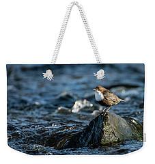 Dipper On The Rock Weekender Tote Bag