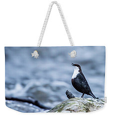Weekender Tote Bag featuring the photograph Dipper's Call by Torbjorn Swenelius