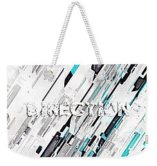 Direction Weekender Tote Bag