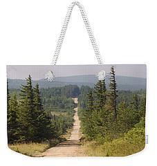 Dirt Road To Dolly Sods Weekender Tote Bag