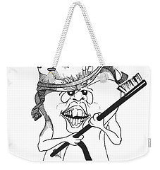 Dis Weekender Tote Bag by Julio Lopez