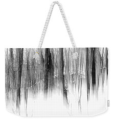Weekender Tote Bag featuring the photograph Disappearance by Steven Huszar