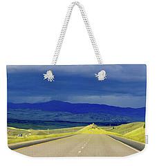 Disappearing Road Weekender Tote Bag