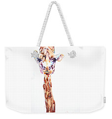 Disappointed Giraffe Weekender Tote Bag