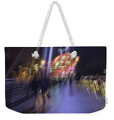 Weekender Tote Bag featuring the photograph Disassembly by Alex Lapidus