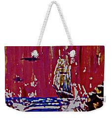 Disaster On The Reef Weekender Tote Bag