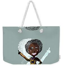 Disco Lady Weekender Tote Bag