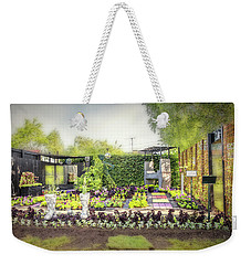 Weekender Tote Bag featuring the photograph Disco. by Leif Sohlman
