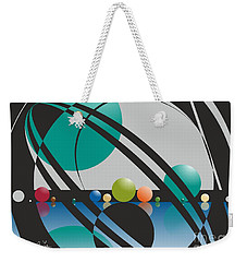 Discovered Thoughs Weekender Tote Bag by Leo Symon