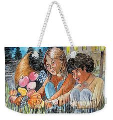 Discovering Heloise O'lantern Weekender Tote Bag