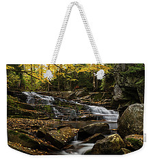 Discovery Falls Autumn Weekender Tote Bag