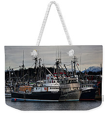Weekender Tote Bag featuring the photograph Discovery Harbour by Randy Hall