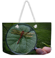 Weekender Tote Bag featuring the photograph Discovery by Mark Fuller