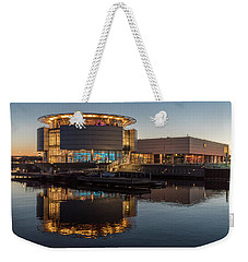 Discovery World Weekender Tote Bag by Randy Scherkenbach