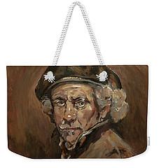 Disguised As Rembrandt Van Rijn Weekender Tote Bag by Nop Briex